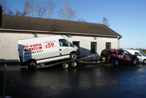 Van Transportation and Delivery